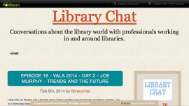 Library Chat podcat joe Murphy Librarian