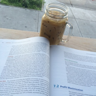 econ book and coffee joe murphy